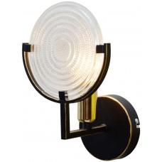 Бра Roxana TL1194B-01BK Toplight черный с золотой патиной
