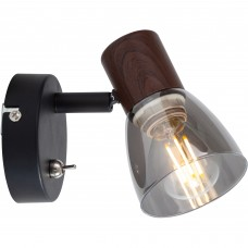 Спот Lavinia TL1233Y-01BB Toplight черный, коричневый