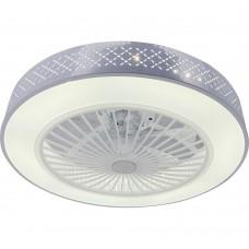 Люстра-вентилятор Verity TL1207X-72WH Toplight LED 72W 3000-6000K белый