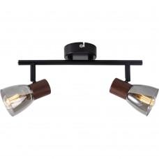 Спот Lavinia TL1233Y-02BB Toplight черный, коричневый