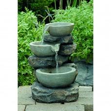GWXF02930 GREEN APPLE Фонтан садовый Чаша (4/24)