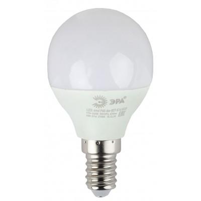 ECO LED P45-8W-827-E14 ЭРА (диод, шар, 8Вт, тепл, E14) (10/100/4200)