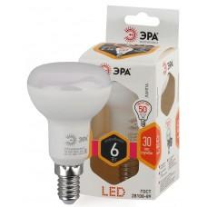 LED R50-6W-827-E14 ЭРА (диод, рефлектор, 6Вт, тепл, E14) (10/100/2800)