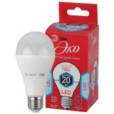 ECO LED A65-20W-840-E27 ЭРА (диод, груша, 20Вт, нейтр, E27) (10/100/1200)