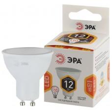 LED MR16-12W-827-GU10 ЭРА (диод, софит, 12Вт, тепл, GU10) (10/100/3200)