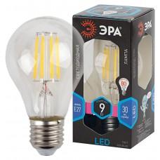 F-LED A60-9W-840-E27 ЭРА (филамент, груша, 9Вт, нейтр., Е27) (10/100/1500)