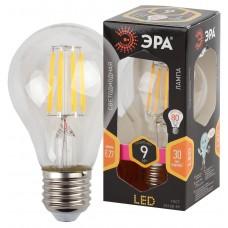 F-LED A60-9W-827-E27 ЭРА (филамент, груша, 9Вт, тепл, Е27) (10/100/1500)