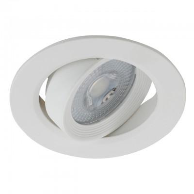 KL LED 22A-5 4K BK Светильник ЭРА Светильник ЭРА светодиодный круглый поворотн. LED SMD 5W 4000K, че