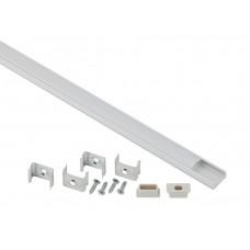 1506 ЭРА Комплект с накладным анодированным профилем CAB262 16х6мм, 2м (5/80/2560)