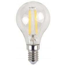 F-LED P45-7W-827-E14 ЭРА (филамент, шар, 7Вт, тепл, E14) (10/100/2400)