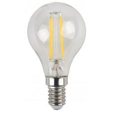 F-LED P45-5W-840-E14 ЭРА (филамент, шар, 5Вт, нейтр, E14) (25/50/3750)