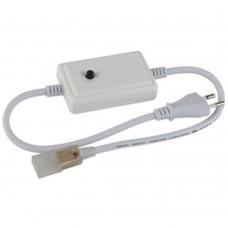 ЭРА RGBcontroller-220-A06  контроллер для ленты на 220V, управление одной кнопкой (80/1920)