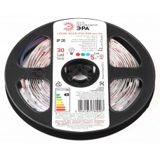 ЭРА LS5050-30LED-IP20-RGB-eco-5m (100/1800)