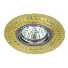DK LD3 YL/WH Светильник ЭРА декор cо светодиодной подсветкой MR16, желтый (50/1400)