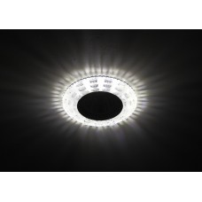 DK LD8 SL/WH Светильник ЭРА декор cо светодиодной подсветкой MR16, прозрачный (50/1400)
