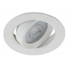 KL LED 22A-5 3K WH Светильник ЭРА светодиодный круглый поворотн. LED SMD 5W 3000K, белый (100/1800)