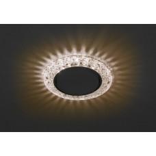 DK LD25 CHP/WH Светильник ЭРА декор cо светодиодной подсветкой Gx53, шампань (50/800)