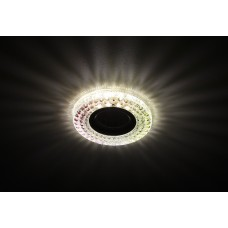 DK LD15 SL RGB/WH Светильник ЭРА декор cо светодиодной подсветкой MR16, мультиколор (50/1400)