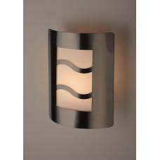 WL21 Светильник ЭРА Декоративная подсветка E27 MAX40W IP44 хром/белый (12/96)