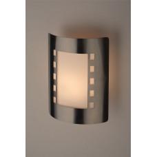 WL23 Светильник ЭРА Декоративная подсветка E27 MAX40W IP44 хром/белый (12/96)