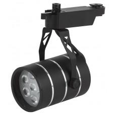 TR3 - 7 BK Трековый Светильник ЭРА 7Вт черный SMD (30/360)