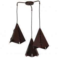 Подвесной светильник Luminex Conall 5529 коричневый