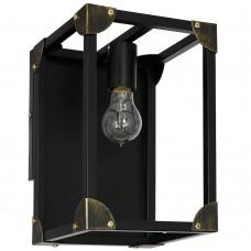 Бра лофт Luminex Trunk 6986 черный