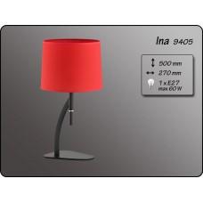 Настольная лампа Alfa Ina 9405 черный