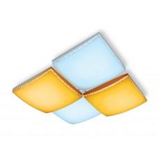 Потолочный светодиодный светильник с пультом FP2324 WH белый 144W 540*540*145 (ПДУ РАДИО 2.4)