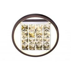 Настенно-потолочный светодиодный светильник без пульта FA105 CF кофе 15 W 3000K D230*70 (Без ПДУ)