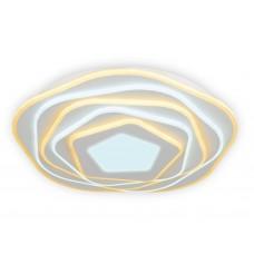 Потолочный светодиодный светильник с пультом FA814 WH белый 78W D500*80 (ПДУ РАДИО 2.4)