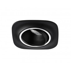Встраиваемый поворотный светодиодный светильник S511 BK черный 5W