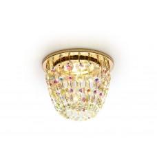 Встраиваемый точечный светильник K2075 G/PR золото/перламутровый MR16