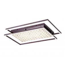 Потолочный светодиодный светильник с пультом FA115 CF кофе 172W 960*660*110 (ПДУ РАДИО 2.4)