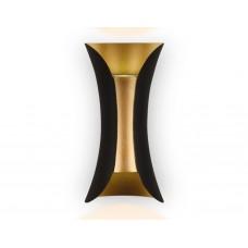 Настенный светодиодный светильник FW193 BK/GD/S черный/золото/песок LED 4200K 10W 100*200*85