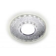Встраиваемый точечный светильник со светодиодной лентой S175 CL/CH хром/серебро MR16+3W(LED WHITE)