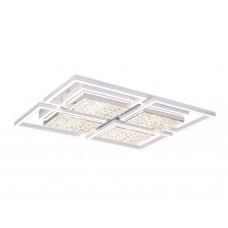 Потолочный светодиодный светильник с пультом FA119/4 WH белый 228W 910*710*110 (ПДУ РАДИО 2.4)