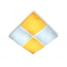 Потолочный светодиодный светильник с пультом FP2382 WH 128W 500*500*100 (ПДУ РАДИО 2.4)