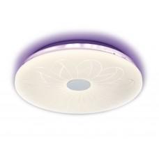 Потолочный светодиодный светильник с пультом F78 PU 80W 420*420*80 (ПДУ ИК)