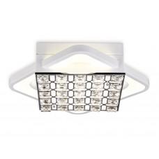 Потолочный светодиодный светильник с пультом FA122 WH белый 54W 300*300*100 (ПДУ РАДИО 2.4)