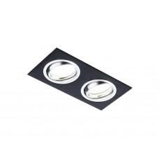 Встраиваемый поворотный светильник A601/2 BK сатин/черный MR16