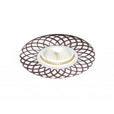 Встраиваемый потолочный точечный светильник A815 AL/BR алюминий/коричневый MR16