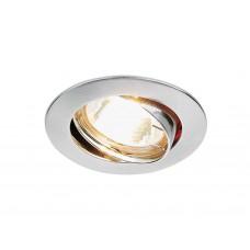 Встраиваемый поворотный светильник 104S SS сатин серебро MR16