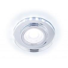 Встраиваемый точечный светильник со светодиодной лентой S214 CL хром/прозрачный /MR16+3W(LED COLD)