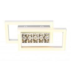 Настенно-потолочный светодиодный светильник без пульта FA107 WH белый 15W 3000K 380*200*85 (Без ПДУ)