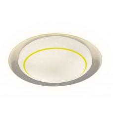 Потолочный светодиодный светильник с пультом F46 YL 48W 450*450*60 (ПДУ ИК)