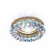 Встраиваемый точечный светильник K206 MULTI/G золото/мульти MR16