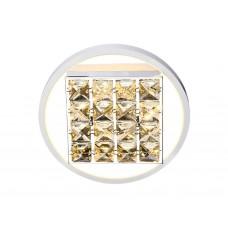 Настенно-потолочный светодиодный светильник без пульта FA104 WH белый 15W 3000K D230*70 (Без ПДУ)
