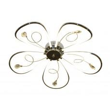 Потолочный светодиодный светильник LC575/5 CH хром 65W 4200K 620*620*110 (Без ПДУ)