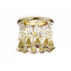 Встраиваемый точечный светильник K2233 G/PR золото/перламутровый